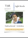Sight Words Activity Book Only